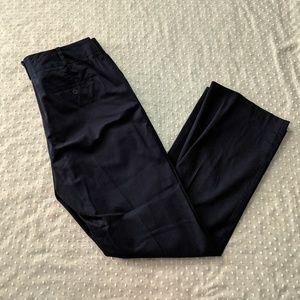 Talbots Heritage Pants  Navy Blue Size 12
